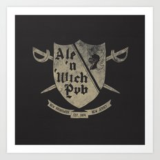 Ale'n 'Wich Pub - New Brunswick, NJ Art Print