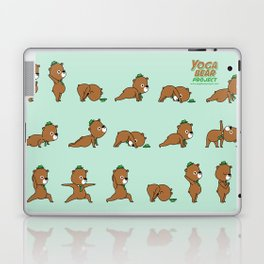 Yoga Bear Laptop & iPad Skin