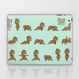 Yoga Bear Laptop & iPad Skin