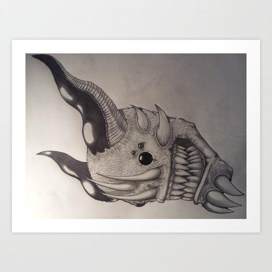 Demon #6 Art Print