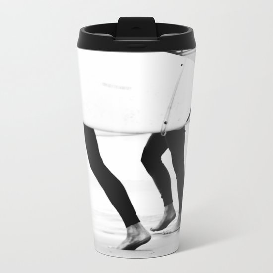 catch a wave Metal Travel Mug