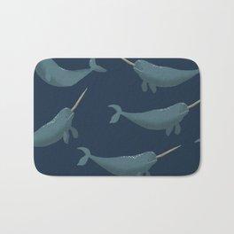 Thrym Pattern - Blue Bath Mat