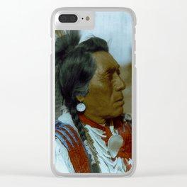 Rabbit Head - Hidatsa - American Indian Clear iPhone Case