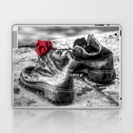 Shoes On The Danube Bank Laptop & iPad Skin