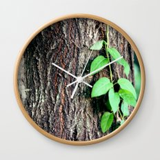 Wrinkles in Nature Wall Clock