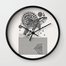 Orca Jump Sketch Wall Clock