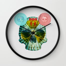 Fukushima - mon amour 2013 · shine on you crazy mankind Wall Clock