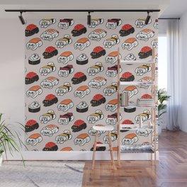 Sushi Bichon Frise Wall Mural