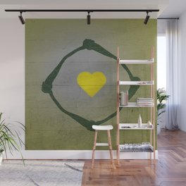 Holding hands Wall Mural