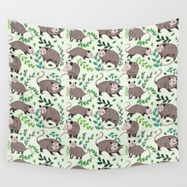 Possums & Plants Wall Tapestry