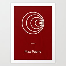 Remedy's Max Payne Art Print