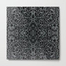 Etching Metal Print
