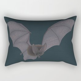 Townsend's Big-eared Bat Rectangular Pillow