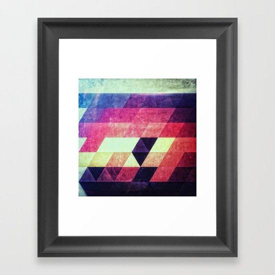 dystryssd bryyyts Framed Art Print