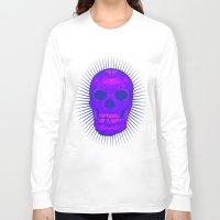calavera Long Sleeve T-shirts featuring Calavera by Joe Baron