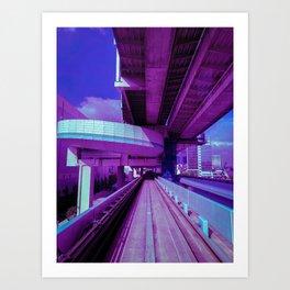 Yurikamome Line Art Print