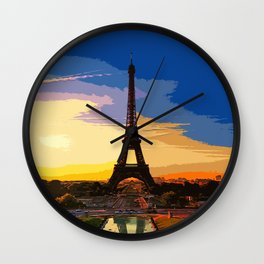 Eiffel Tower - Paris Wall Clock