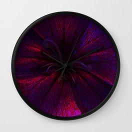 Floral Fireworks Wall Clock