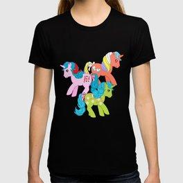 g1 my little pony unicorns T-shirt
