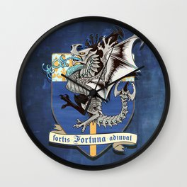 fortis fortuna adiuvat Wall Clock