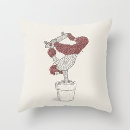 Handplant Throw Pillow