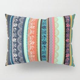 Bohemian Tribal Stripe Pillow Sham