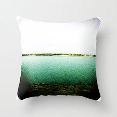 Beach 50 Throw Pillow