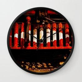 Cow Catcher Wall Clock