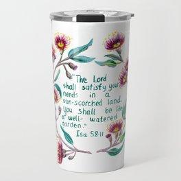 Isaiah 58:11 Travel Mug