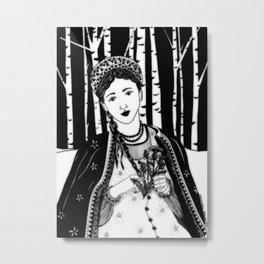 "Inktober, Day 25 ""Prickly"" #inktober #inktober2018 Metal Print"