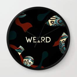 Weird as f*ck Wall Clock