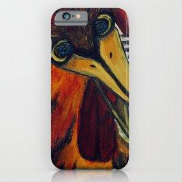 Crazy Chicken iPhone Case