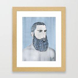 BEARD OMAR Framed Art Print