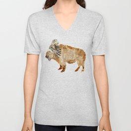 buffalo Unisex V-Neck