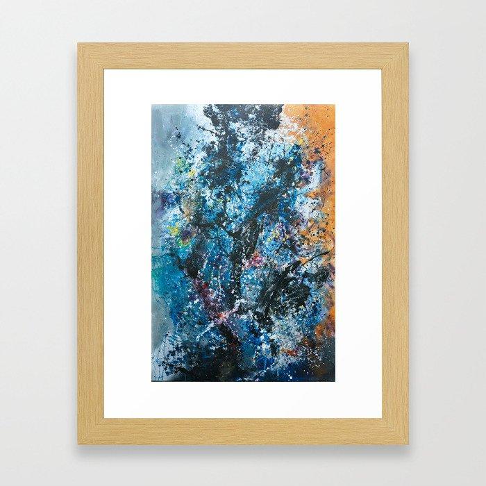 Your Universe Expanding Framed Art Print