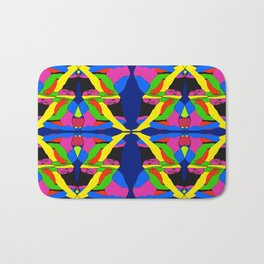 Boxed Gymnast Bath Mat