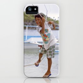 All Roped Up iPhone Case