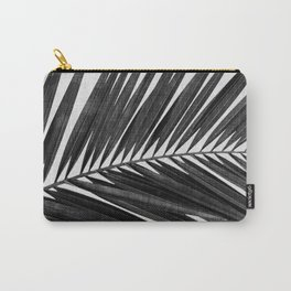 Palm Leaf Black & White I Carry-All Pouch