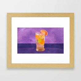 Butterfly Fish Tea by Kenzie McFeely Framed Art Print