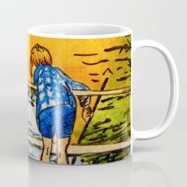Pooh in Egg Tempera Coffee Mug