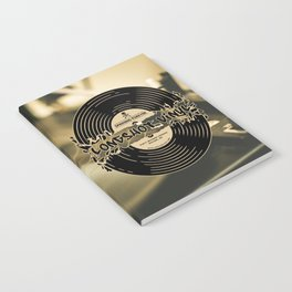Spinning Forever (Sepia) Notebook