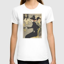 Divan Japonais - Henri de Toulouse Lautrec T-shirt