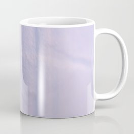 Crumpled Lines on Lilac Paper Texture Coffee Mug