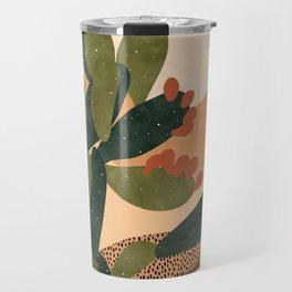 Prickly Pear Cactus Travel Mug