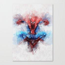 Amazing spider man homecoming Canvas Print