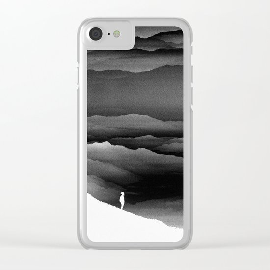 Solar Noise Isolation Series Clear iPhone Case
