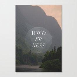 WILDERNESS — Canvas Print