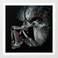 predator Art Prints featuring Predator by Shannon Laing
