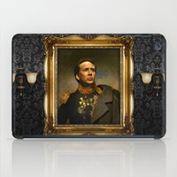 depeche mode iPad Cases featuring Nicolas Cage - replaceface by replaceface
