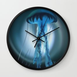 The Blue Jelly Wall Clock